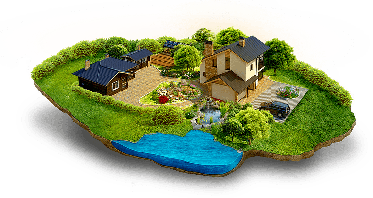 Сделки с загородной недвижимостью